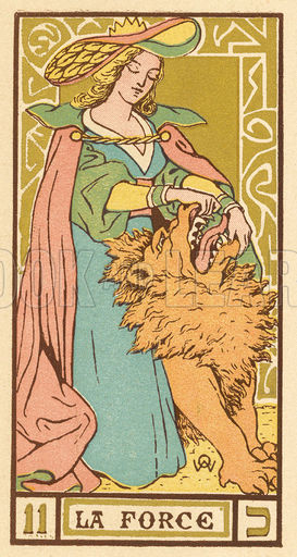 Tarot Card 11 - La Force (Strength)